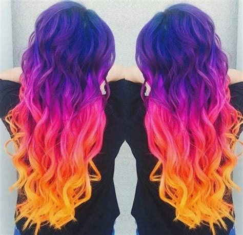 Cant Ever Resist Sunset Hair Valentinalelypetaccia