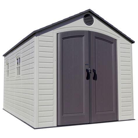 lifetime storage sheds lifetime 8 x 15 storage shed bj s club