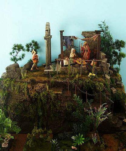 creche building lessons christmas nativity scene