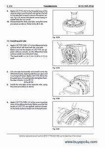 Fiat Kobelco W170 W170pl W190 Wheel Loader Pdf Manual