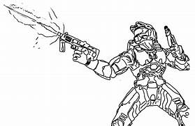 free the alien on halo coloring pages halo reach jorge