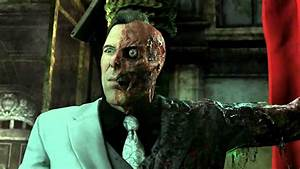 Arkham City: Two Face's Cutscenes with his TAS Theme - YouTube