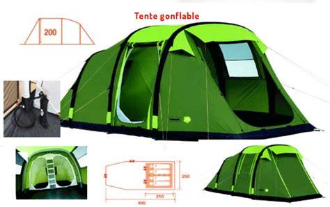 grande tente familiale gonflable 4 places trigano