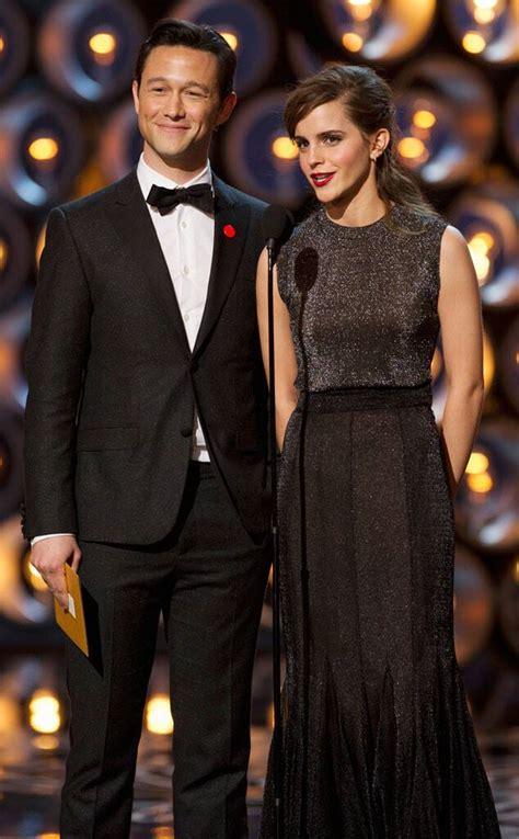 Joseph Gordon Levitt Emma Watson From Oscars