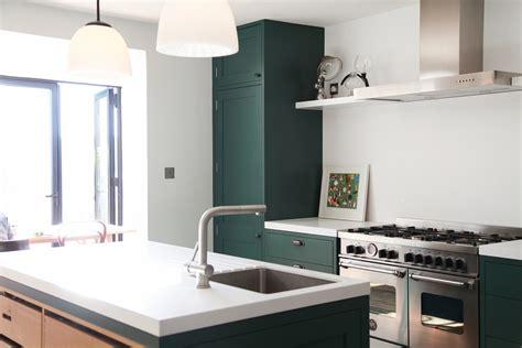 green shaker style kitchen green shaker kitchen 4039