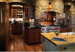 Rustic Kitchen Designs by Rustic Kitchen With Rich Accents Rustic Kitchen Denver By Kitchens By