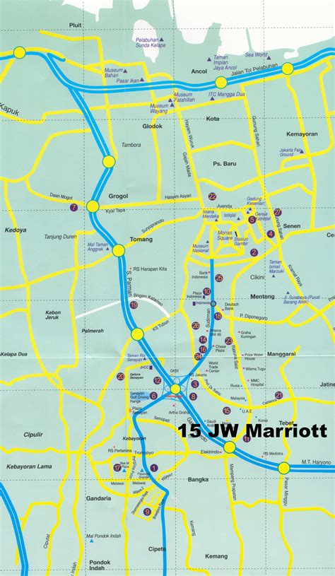 maps map jakarta