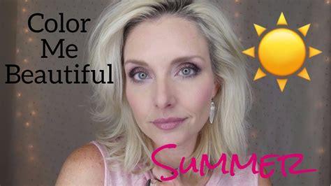 color me beautiful summer color me beautiful seasonal makeup experiment summer