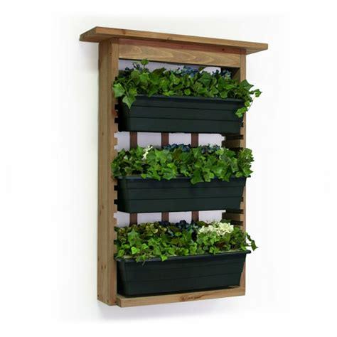 veintidos ideas de jardines verticales  macetas colgantes