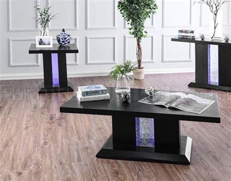 tobias coffee table   tables set cm  black
