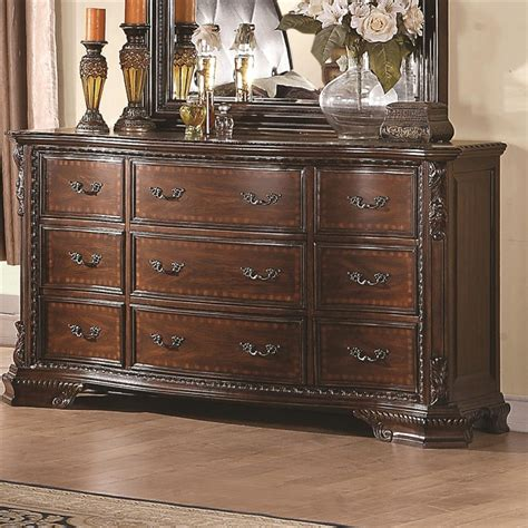 coaster maddison bedroom set maddison 6 bedroom set in warm cappuccino finish by