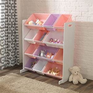 Regal Für Kinder : kidkraft regal mit aufbewahrungsboxen f r kinderzimmer ~ Lizthompson.info Haus und Dekorationen
