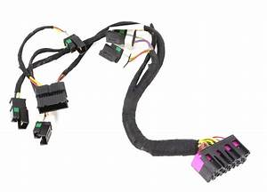 Lh Front Power Sport Seat Base Wiring Harness Audi S4 00