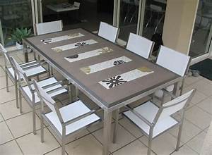 Table Mosaique Jardin : d co jardin avec mosa que en 28 beaux exemples ~ Teatrodelosmanantiales.com Idées de Décoration