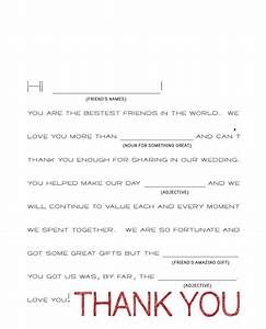 wedding thank you cards easy how to write wedding thank With thank you card letter