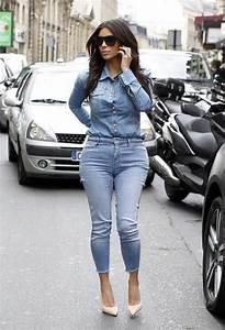 Kim Kardashian style 2014   Kardashian Style   Pinterest   Kim kardashian Pump and Denim on ...