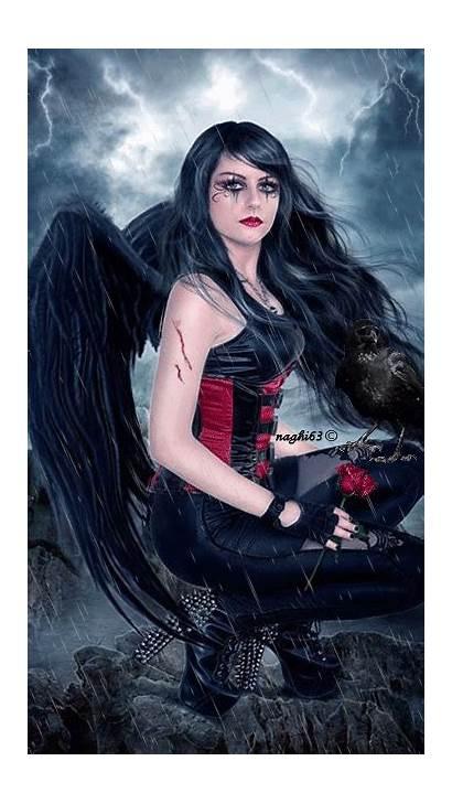 Angel Gothic Dark Angels Gifs Fantasy Fallen