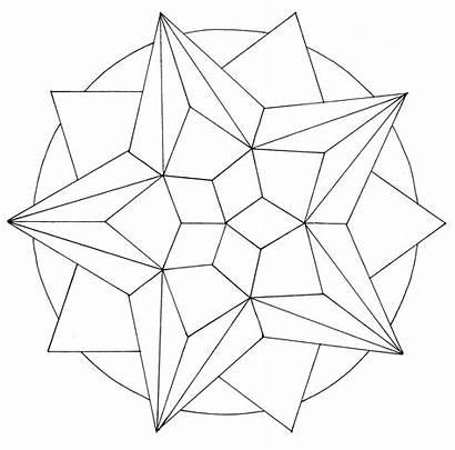 Mandala Geometric Designs Compass Drawing Using Protractor