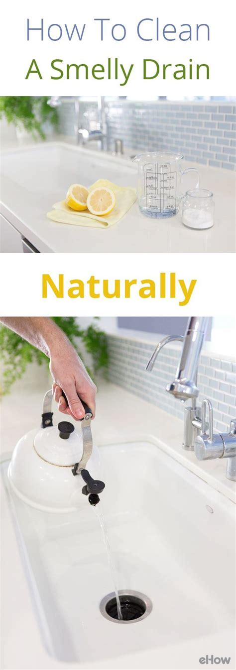how to clean stinky kitchen sink drain 25 best ideas about smelly drain on clean 9357