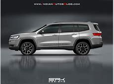 Jeep 7seat SUV rendering