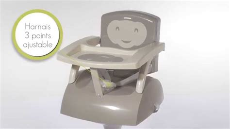 chaise de table pour bébé le rehausseur de chaise thermobaby