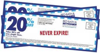 Bed Bath And Beyond Coupon Text Image