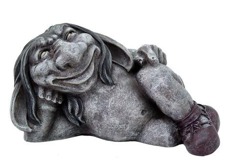 faux goblin gargoyle desktop statue sculpture grotesque handpainted ebay