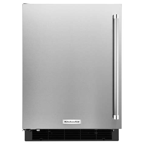 Kitchenaid Undercounter Refrigerator With Maker by Kitchenaid 4 9 Cu Ft Undercounter Refrigerator In