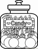 Coloring Pages Candy Freecoloringpages Sheets sketch template