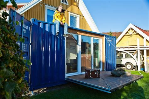 Wohnen Im 20 Fuß Container