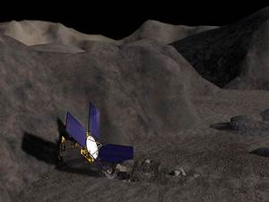NEAR-Shoemaker after Landing on the Asteroid Eros | Time ...