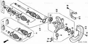 Honda Atv 2006 Oem Parts Diagram For Knuckle