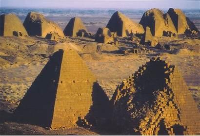 Pyramids Sudan Egypt Africa Ancient Pyramid Nubia