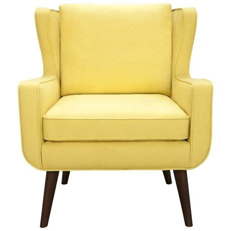 Freedom Armchairs by Mustard Yellow Wing Chair Loving The Curved Arms