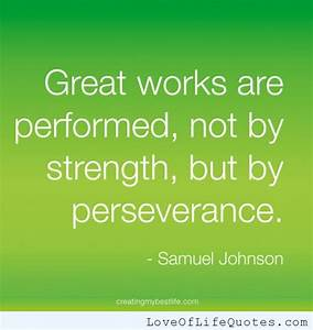 Quotes On Endurance And Perseverance. QuotesGram