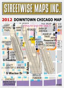Downtown Chicago Map