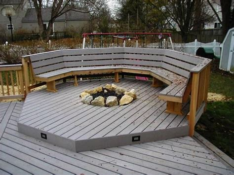 Recessed Gas Fireplaces For Deck