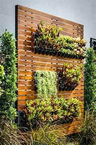 Mur Végétal En Palette : les jardins suspendus 50 id es originales et astuces utiles ~ Melissatoandfro.com Idées de Décoration