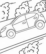 Coloring Fast Riding Road Mitraland sketch template