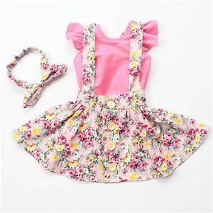2016 new style baby girls fashion dress clothes headband ...