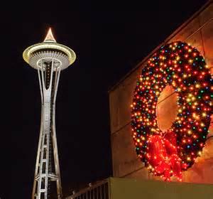 seattle center holiday decorations david hogan flickr