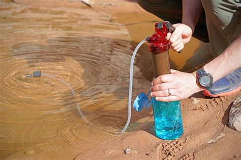backpacking water filters purifiers