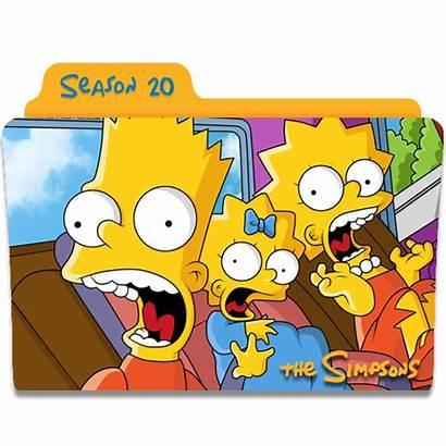 Simpsons Season Icon Folder Icons