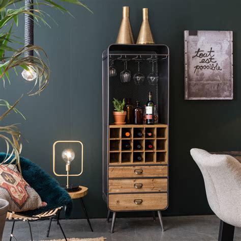 wine kitchen cabinet dutchbone vintage style wine cabinet by cuckooland 1115