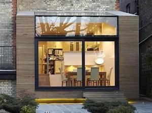 les 25 meilleures idees de la categorie extension bois sur With toit en verre maison 7 brique de verre wikipedia