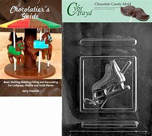 Cybrtrayd Ice Hockey Sports Chocolate Candy Mold With