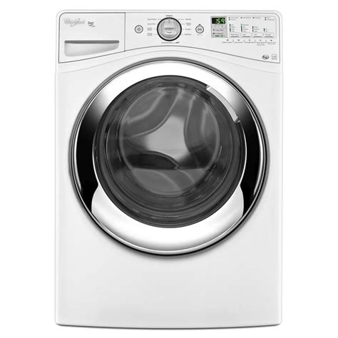 whirlpool duet shop whirlpool duet 4 1 cu ft high efficiency front load washer with steam cycle white energy