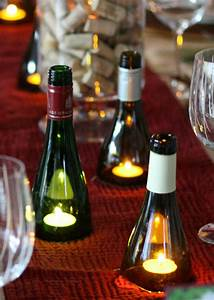 invite and delight diy wine bottle candles With kitchen cabinets lowes with wedding table candle holders