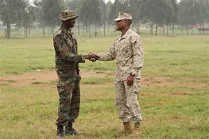 U.S. Marines, Ugandan soldiers share thoughts on unique ...