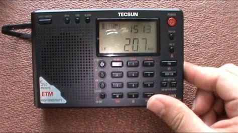 Radio Review: Tecsun PL-380 - YouTube